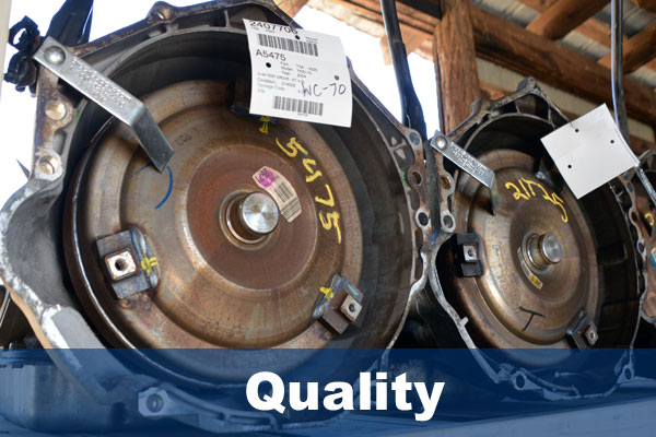 Top quality used auto parts in VA NC